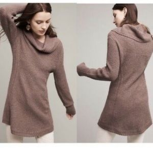 Anthro Angel Of The North Rosie Cowl Neck Sweater